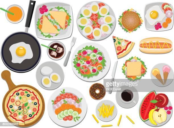 ilustrações, clipart, desenhos animados e ícones de delicioso - comida doce