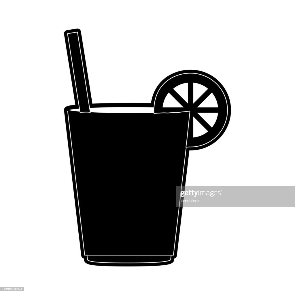 Delicious Lemonade Cup Stock Illustration - Getty Images