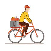 Delivery business concept