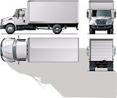 delivery / cargo truck.