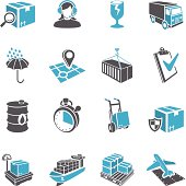3D Delivery Icon Set
