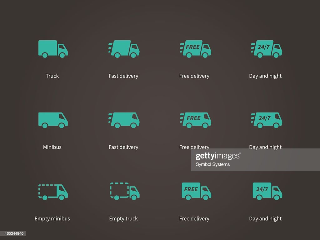 Delivery Service icons