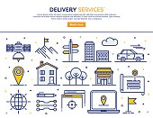 Delivery Services Concept