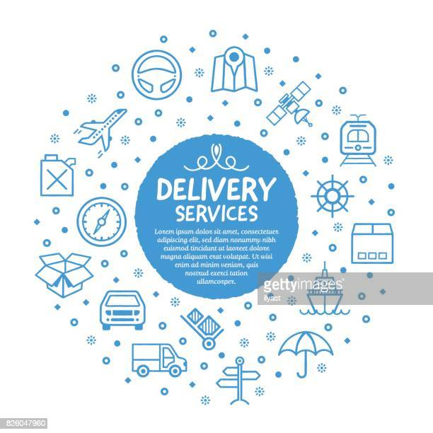 Delivery Services Poster