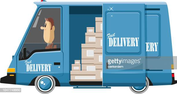Delivery van and the goods