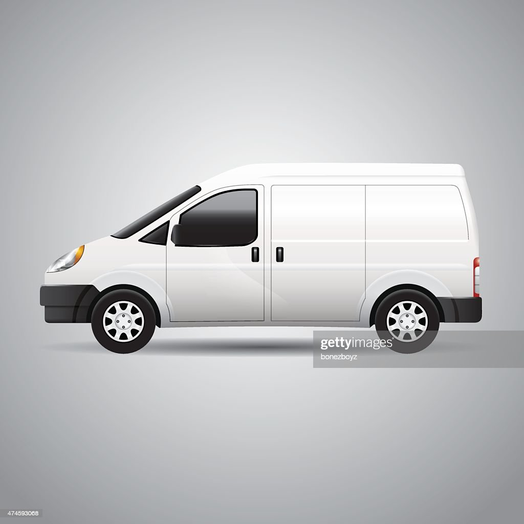 Delivery Van - Vector