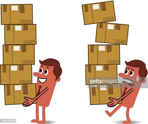 illustrations, cliparts, dessins animés et icônes de la livraison - déménagement