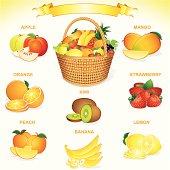 Deluxe Fruit Basket.