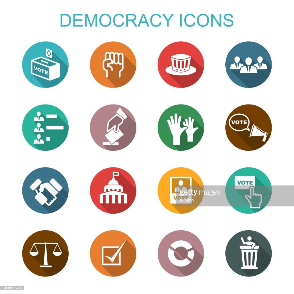 democracy long shadow icons