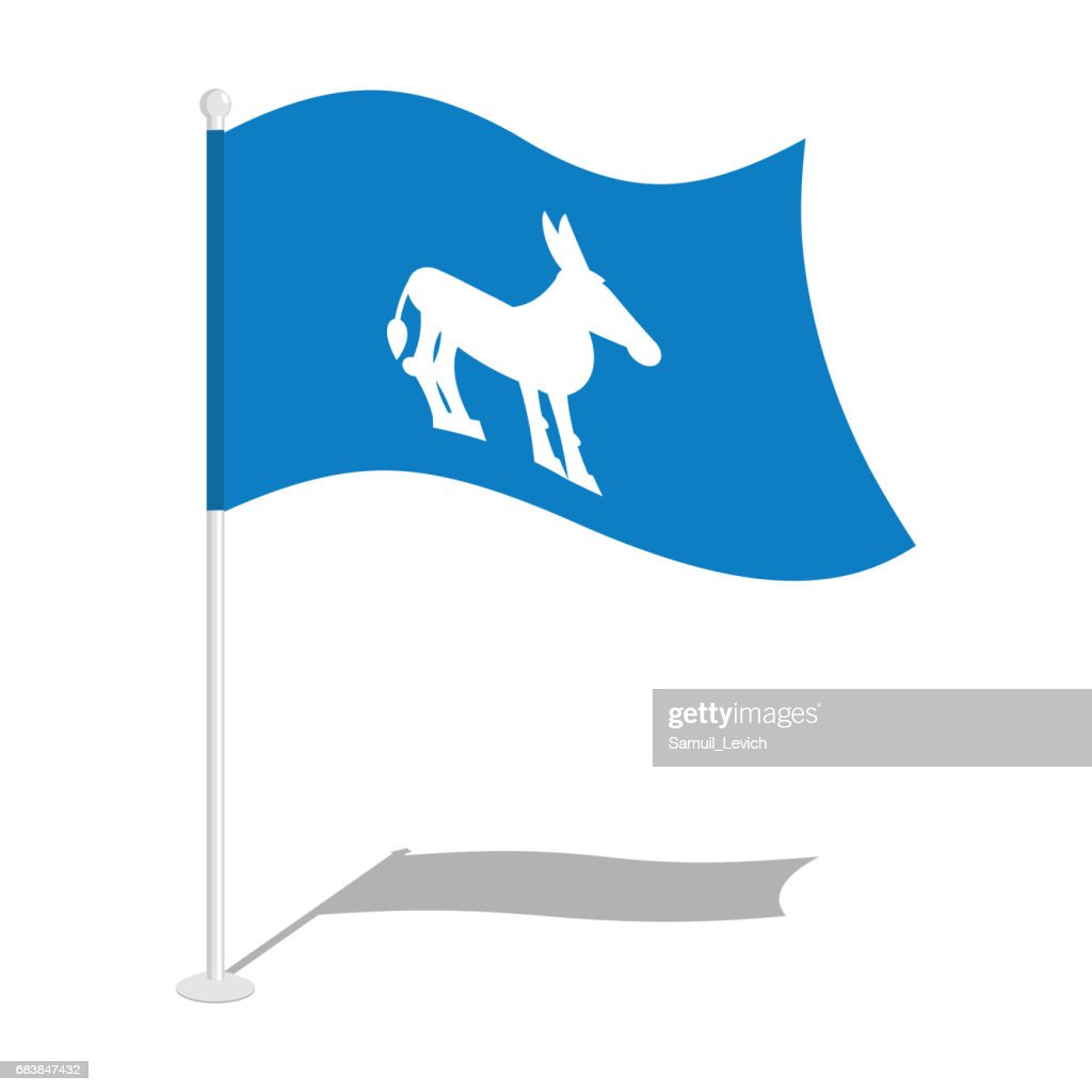 Democrat donkey flag national flag of presidential election in democrat donkey flag national flag of presidential election in america state symbol of united biocorpaavc Image collections