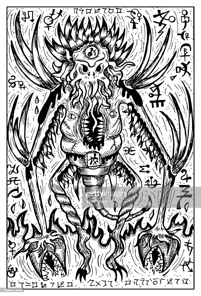 Demon, Devil or monster