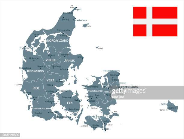 30 - Denmark - Grayscale Isolated 10
