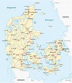 Denmark road map