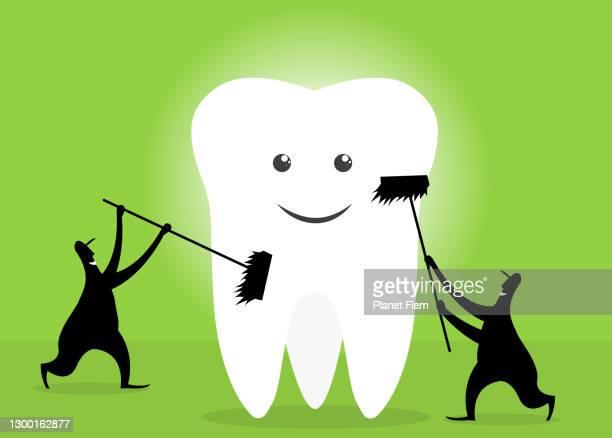 歯科治療 - 歯科衛生士点のイラスト素材/クリップアート素材/マンガ素材/アイコン素材