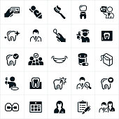 Dentistry and Orthodontics Icons