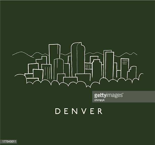 illustrations, cliparts, dessins animés et icônes de croquis de denver - denver