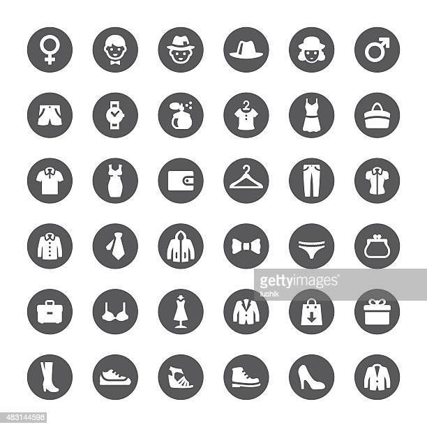 Department Store vector icons