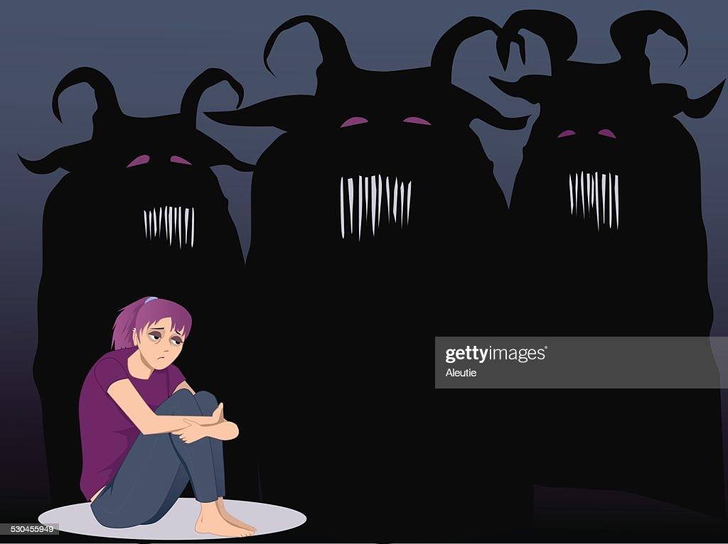 Depression monsters