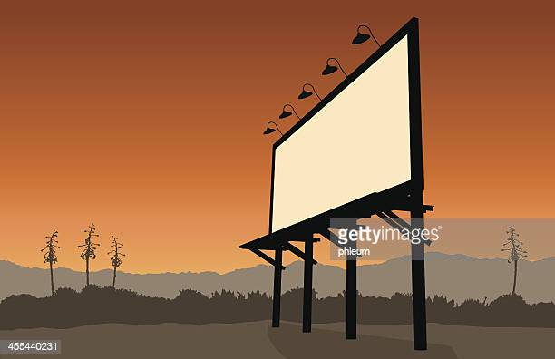 Desert billboard