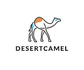 desert camel vector icon