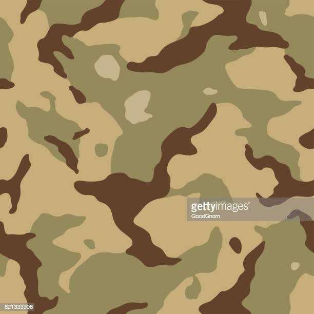 desert camouflage seamless - special forces stock illustrations, clip art, cartoons, & icons
