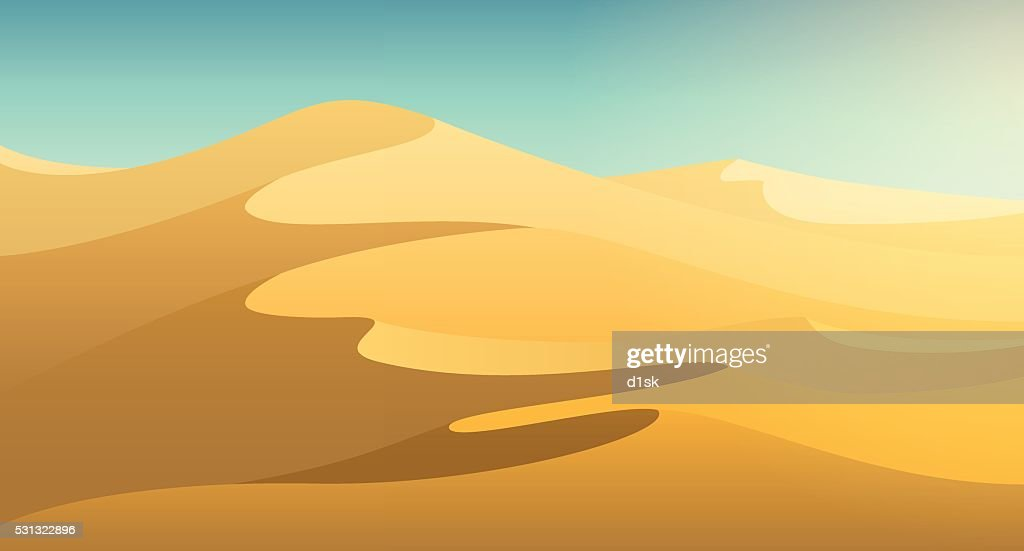 Desert dunes background