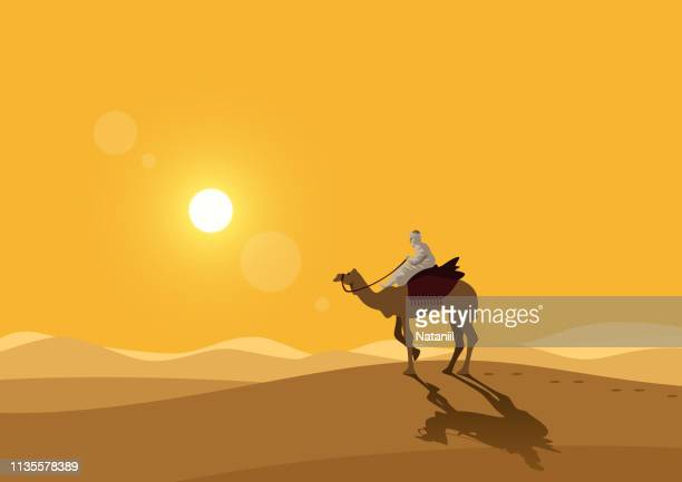 desert - desert stock illustrations