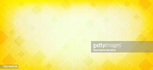 design abstrakt gelb hinterlegt - gelber hintergrund stock-grafiken, -clipart, -cartoons und -symbole