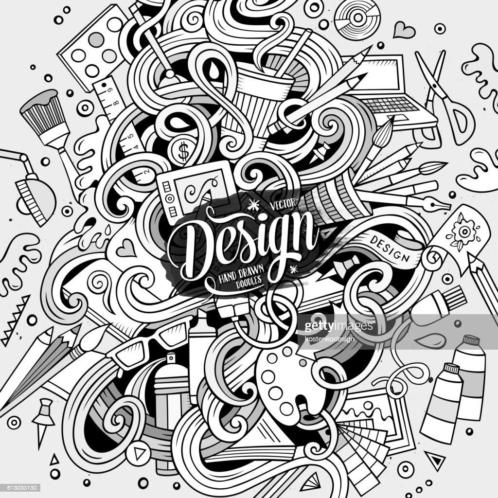 Design and Art doodles illustration