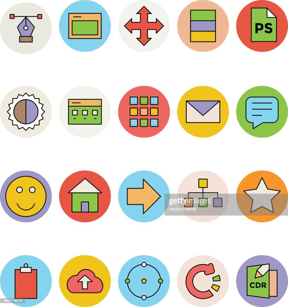 Design and Development Vector Icons 3