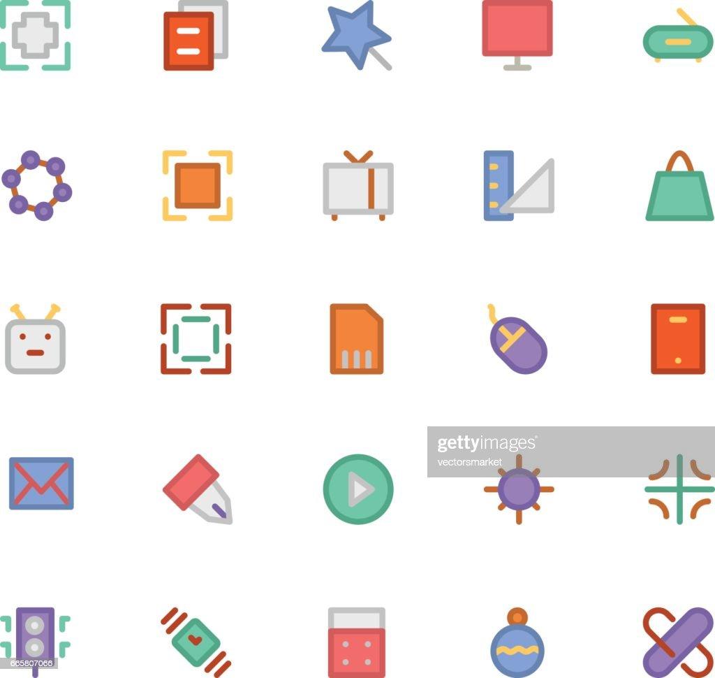Design & Development Vector Icons 1