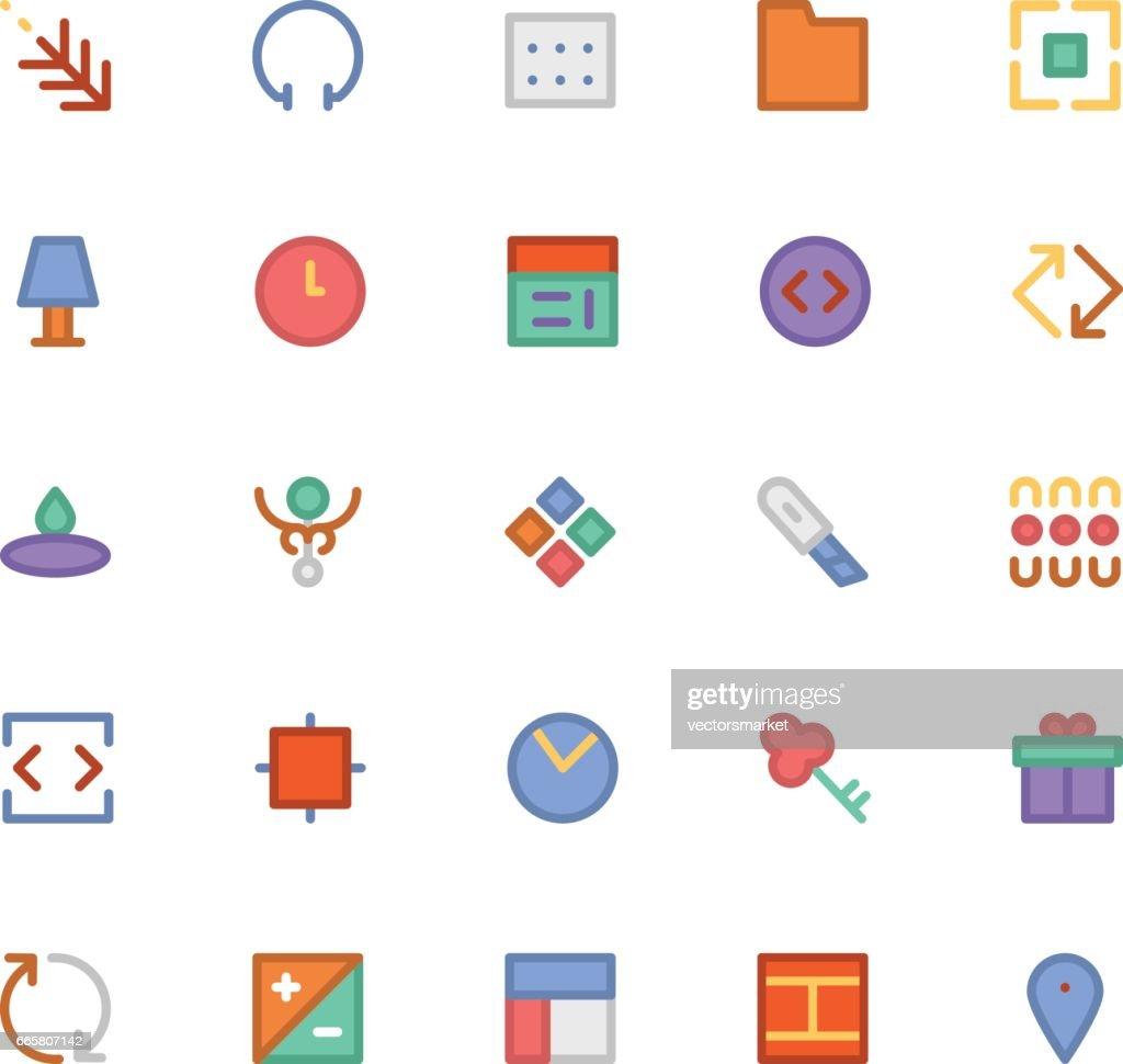 Design & Development Vector Icons 3