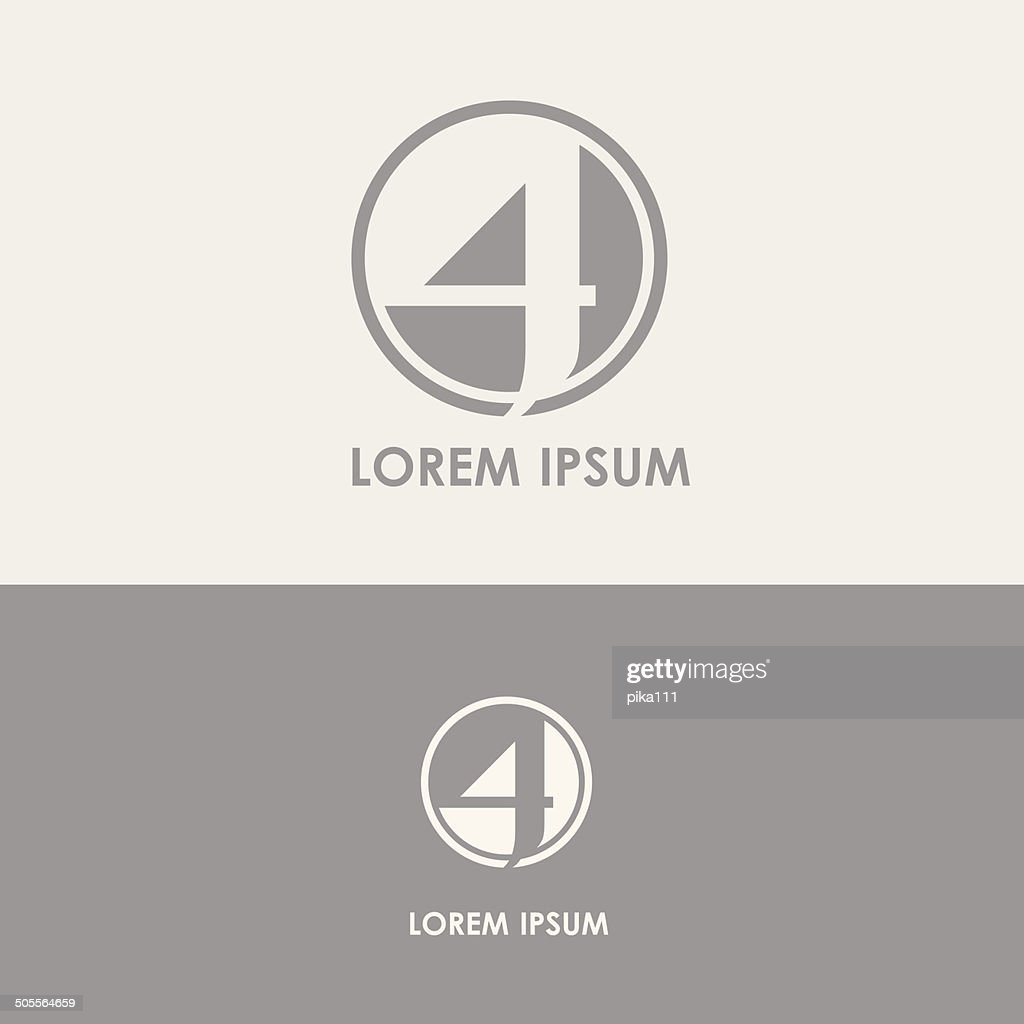 design element for business visual identity