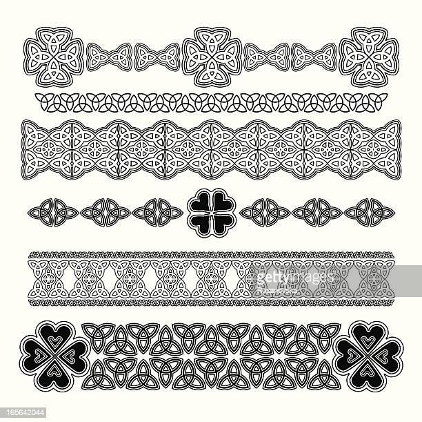 デザイン要素セント・パトリックの日 - ケルト風点のイラスト素材/クリップアート素材/マンガ素材/アイコン素材