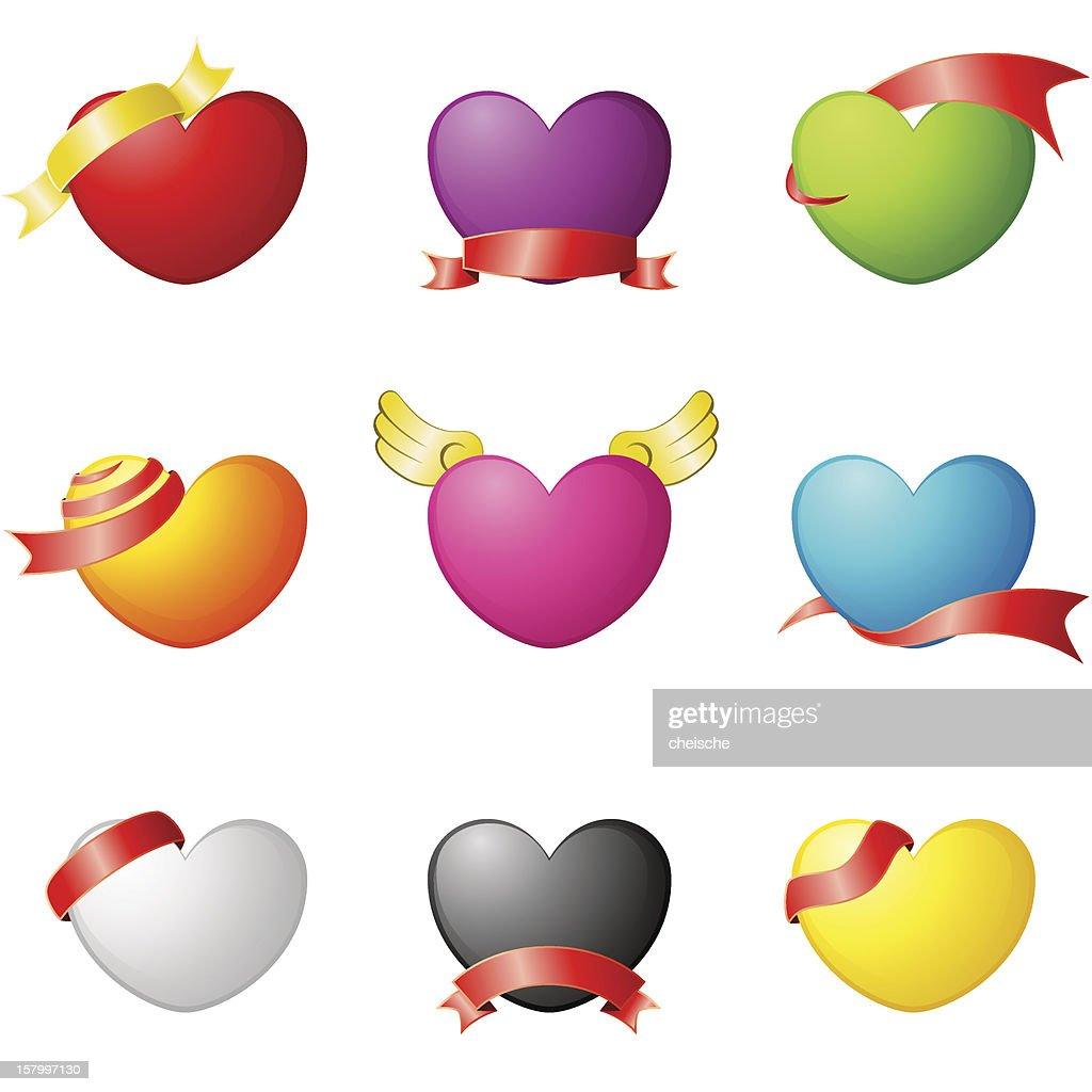 Design element - Love : stock illustration