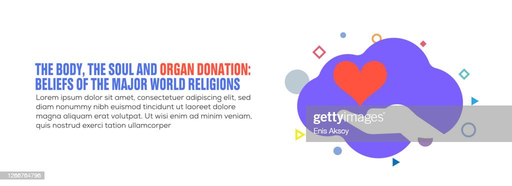 Design Element Related To Organ Donation Donation Ngo Health Cardiology Care High Res Vector Graphic Getty Images