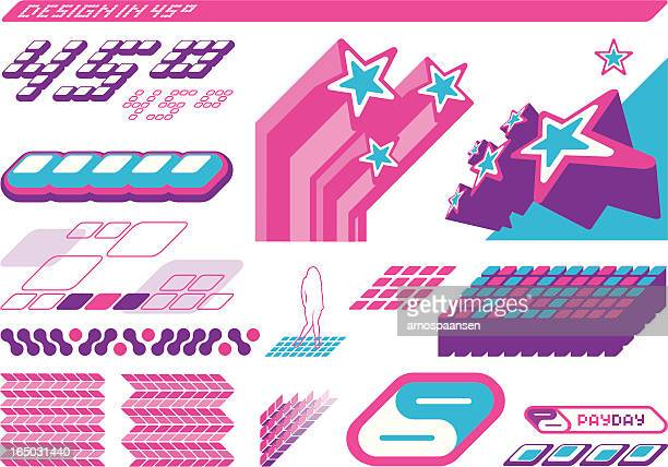 design elements - 45 degrees orientation