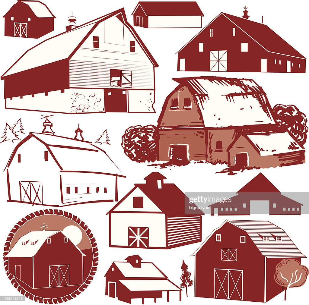 Design Elements - Barns
