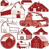 Design Elements - Barns