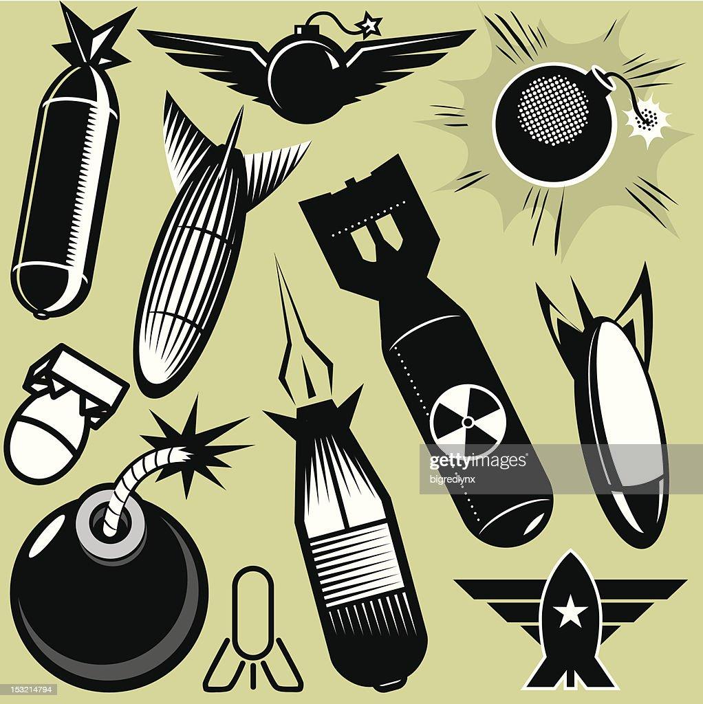 Design Elements - Bombs