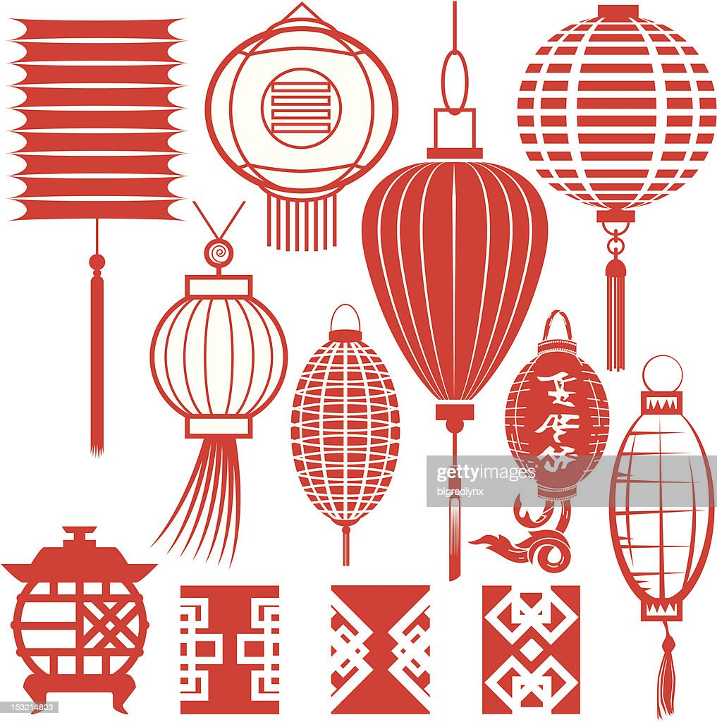 Design Elements - Chinese Lanterns