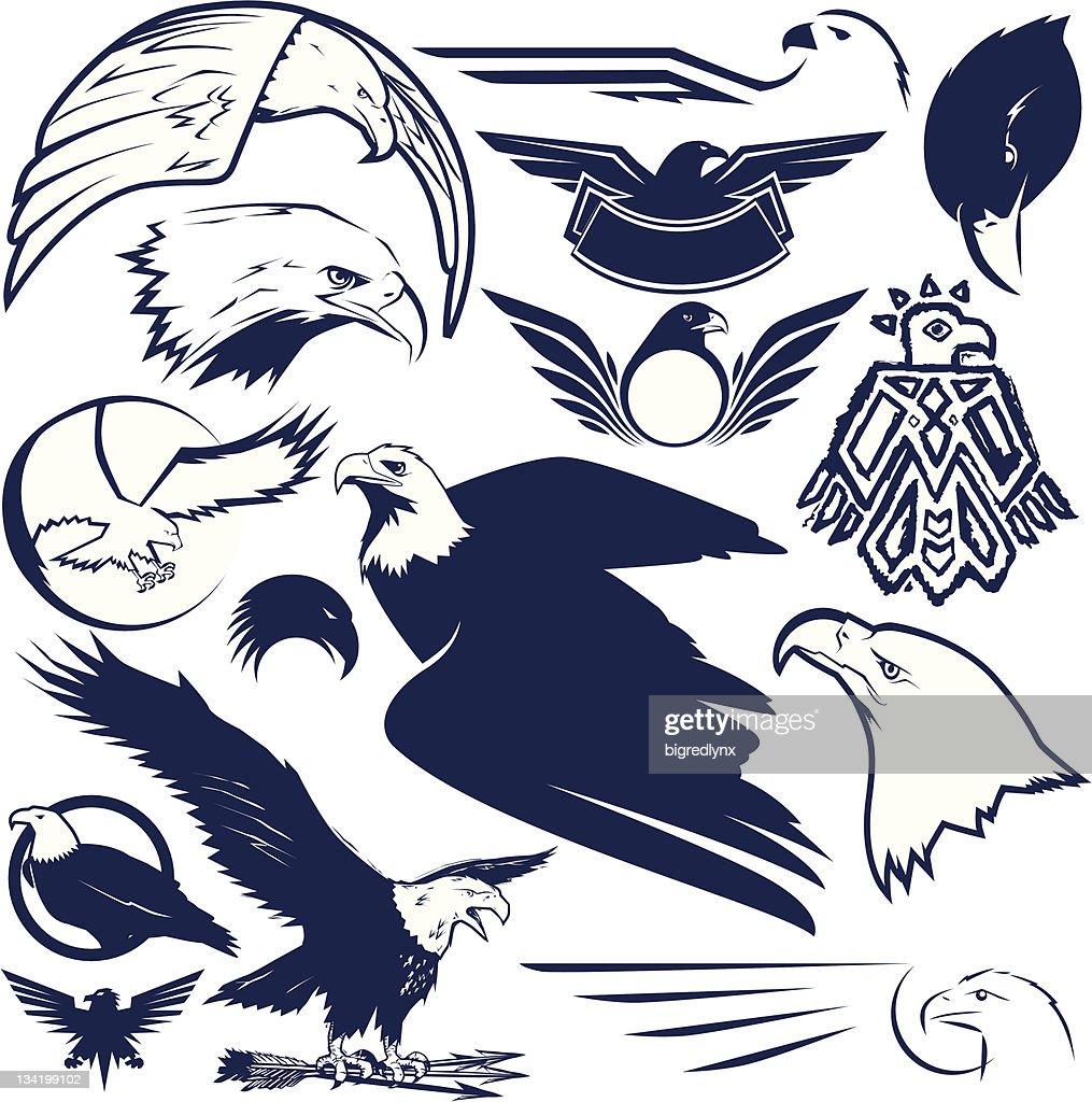 Design Elements - Eagles