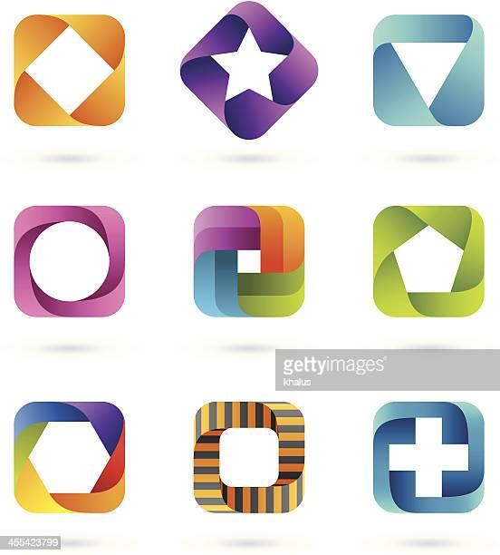 Design Elements | square set #1