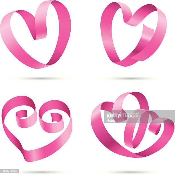 Elementos de diseño/rayado corazones