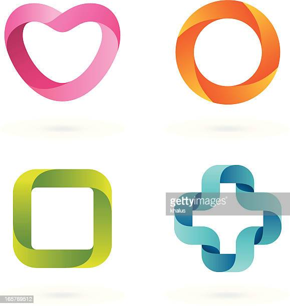 Design-Elemente/Streifen-Symbole#1