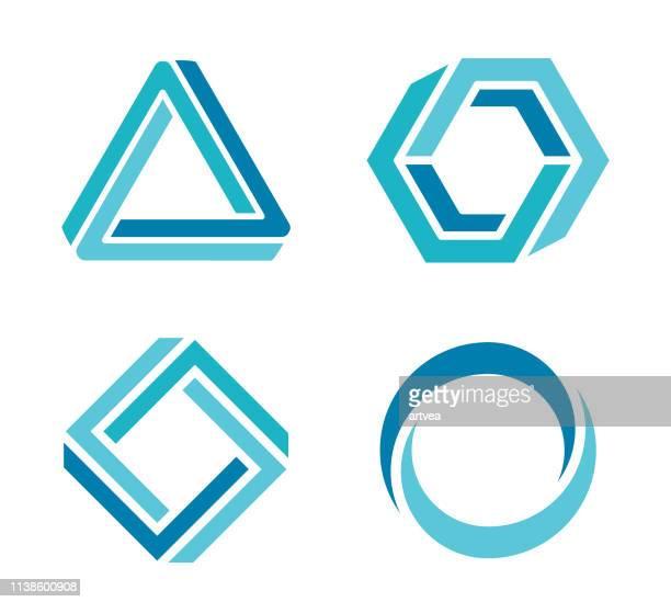 デザイン要素 - ロゴマーク点のイラスト素材/クリップアート素材/マンガ素材/アイコン素材