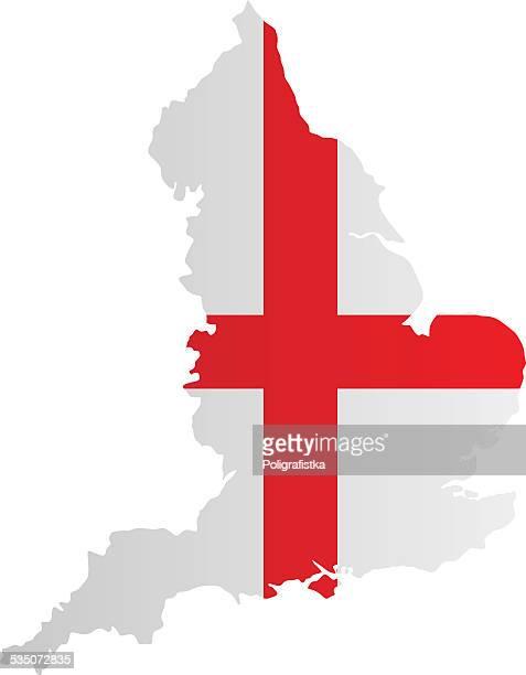Design Flag-Map of England