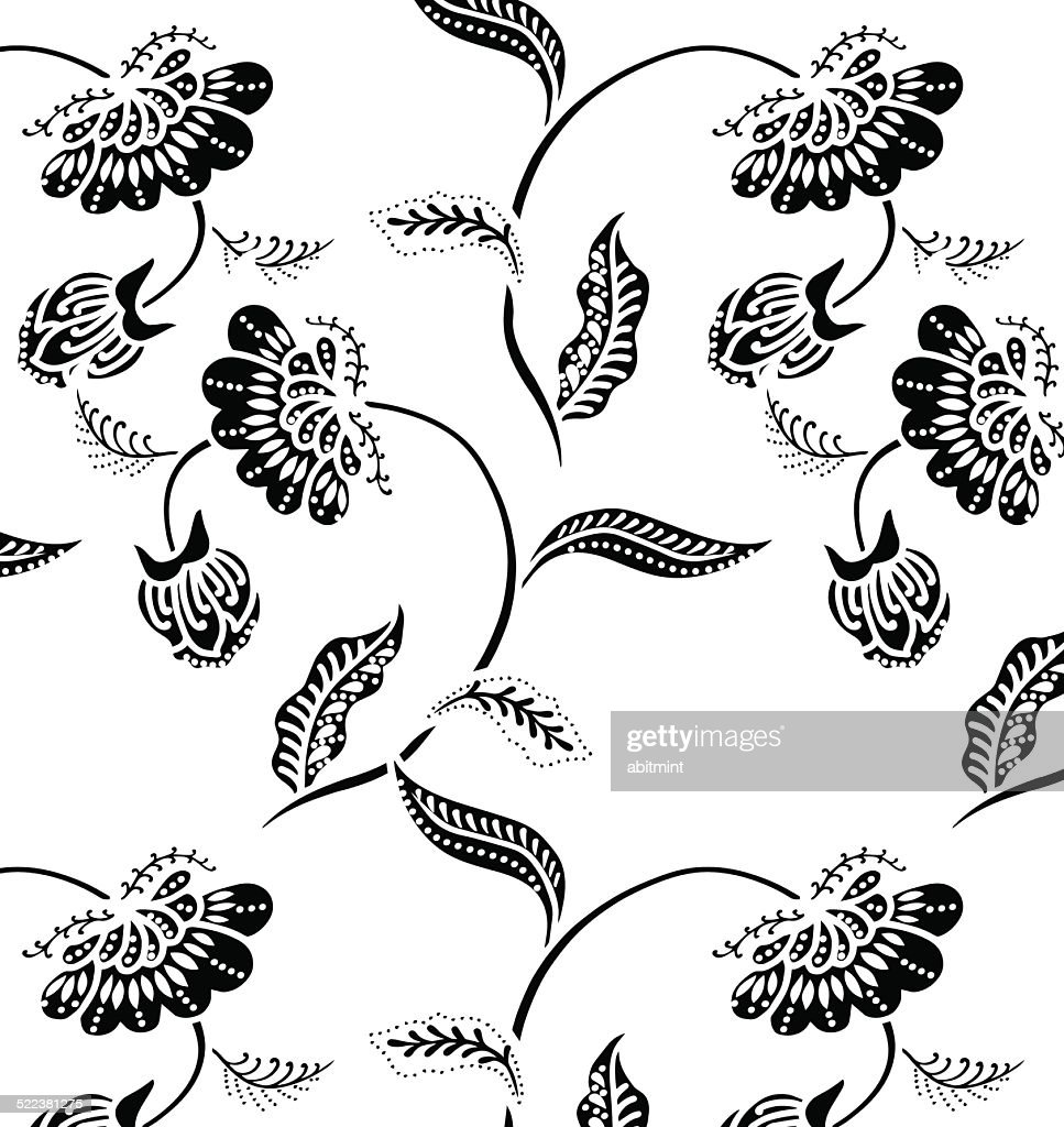 Design for fabric.Lined with flowers. beautiful background.