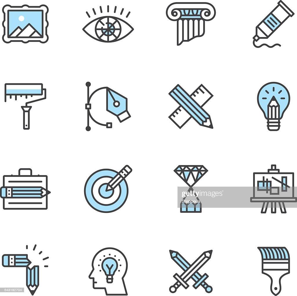 Design Icons : Stock Illustration