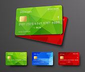 Design of a bank credit (debit) card.
